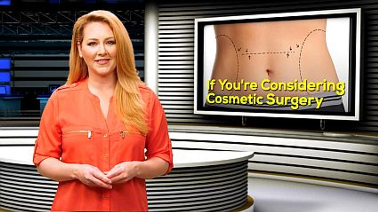 If You're Considering Cosmetic Surgery