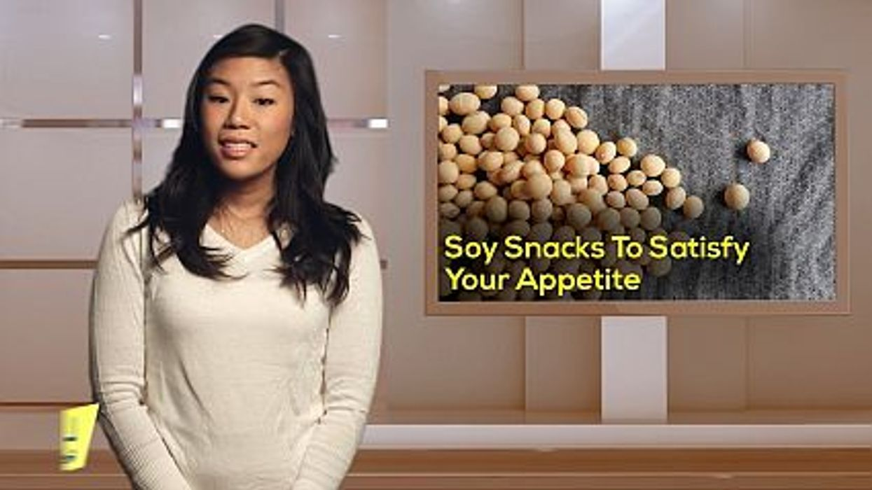 Soy Snacks To Satisfy Your Appetite