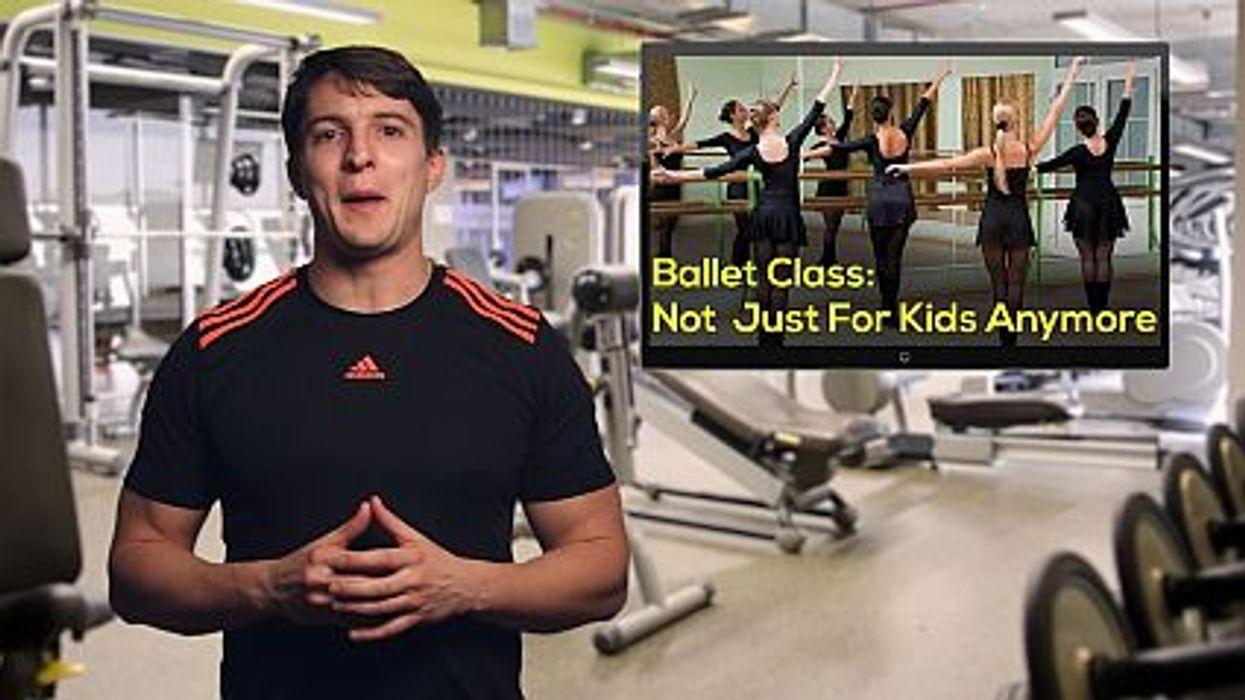 Ballet Class: Not Just For Kids Anymore