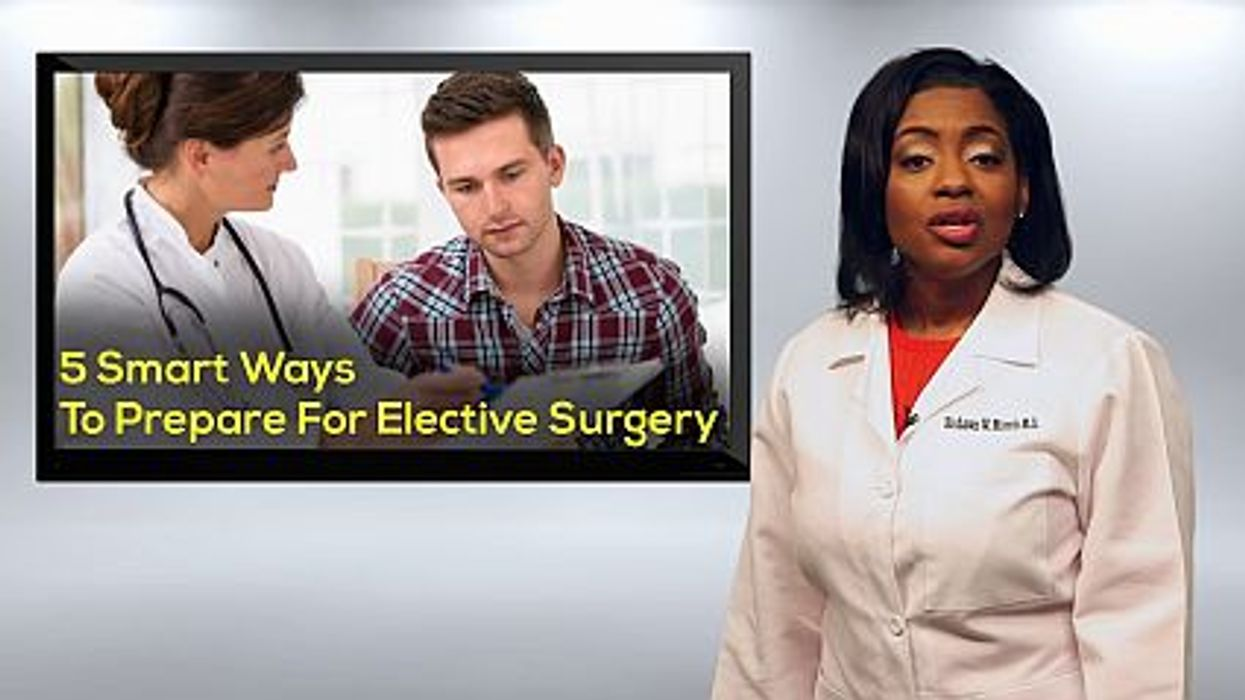 5 Smart Ways To Prepare For Elective Surgery
