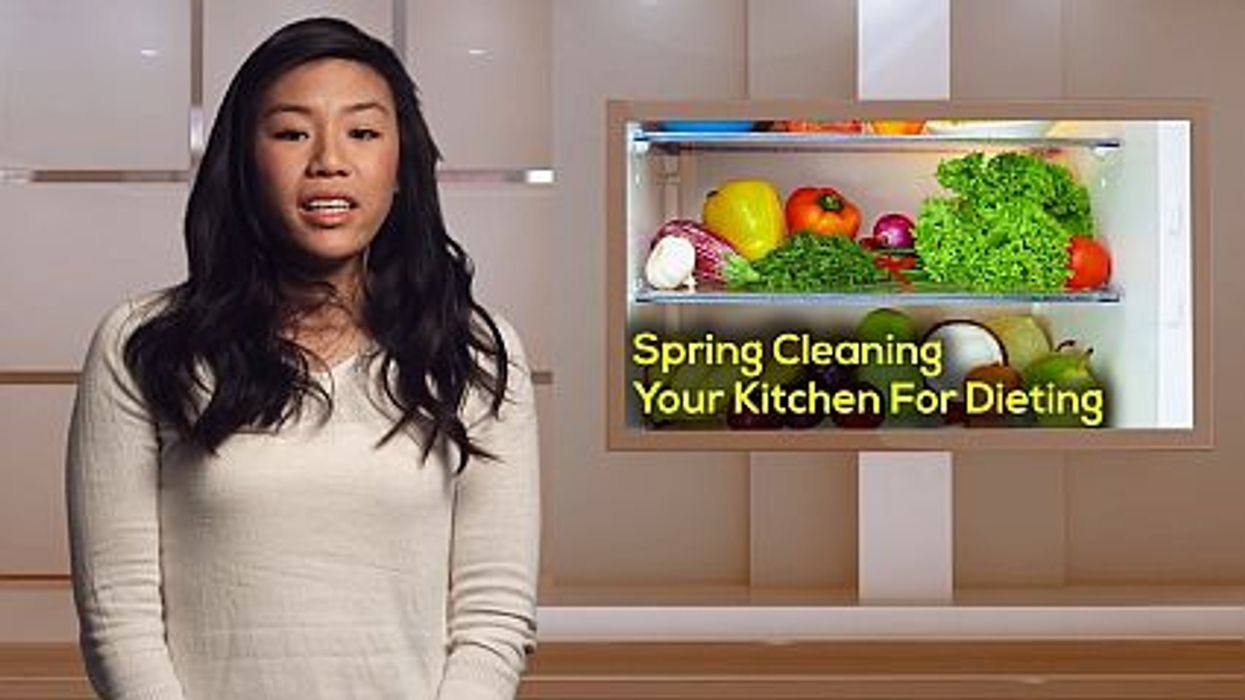 Spring Cleaning Your Kitchen For Dieting