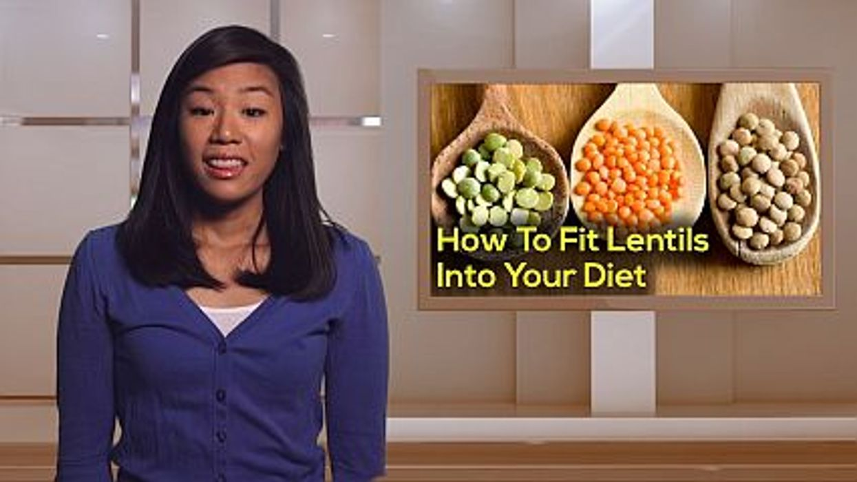 How To Fit Lentils Into Your Diet