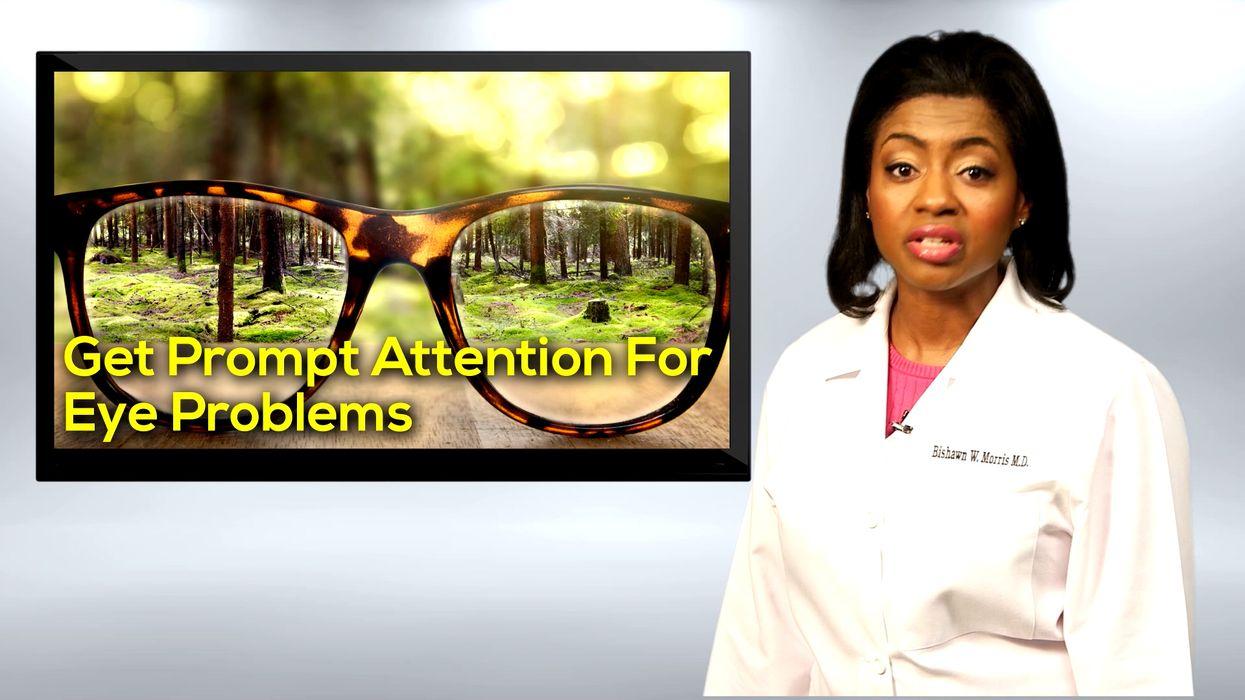 Get Prompt Attention For Eye Problems