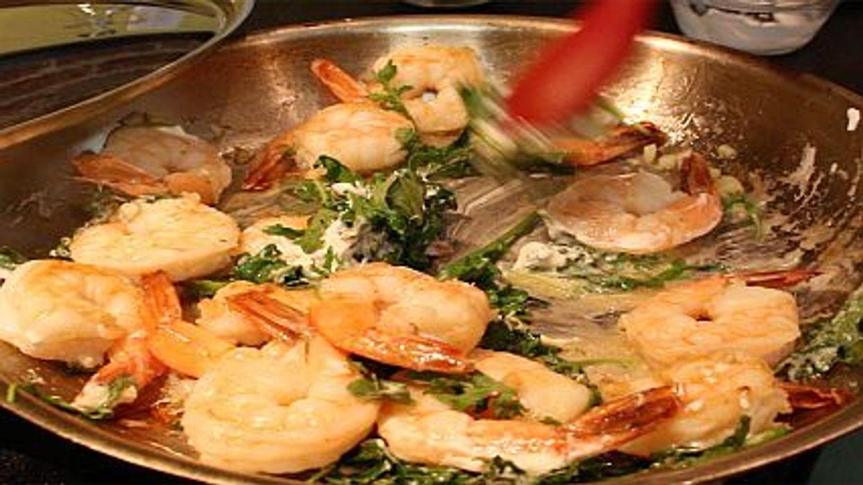 Streamlined Shrimp Scampi