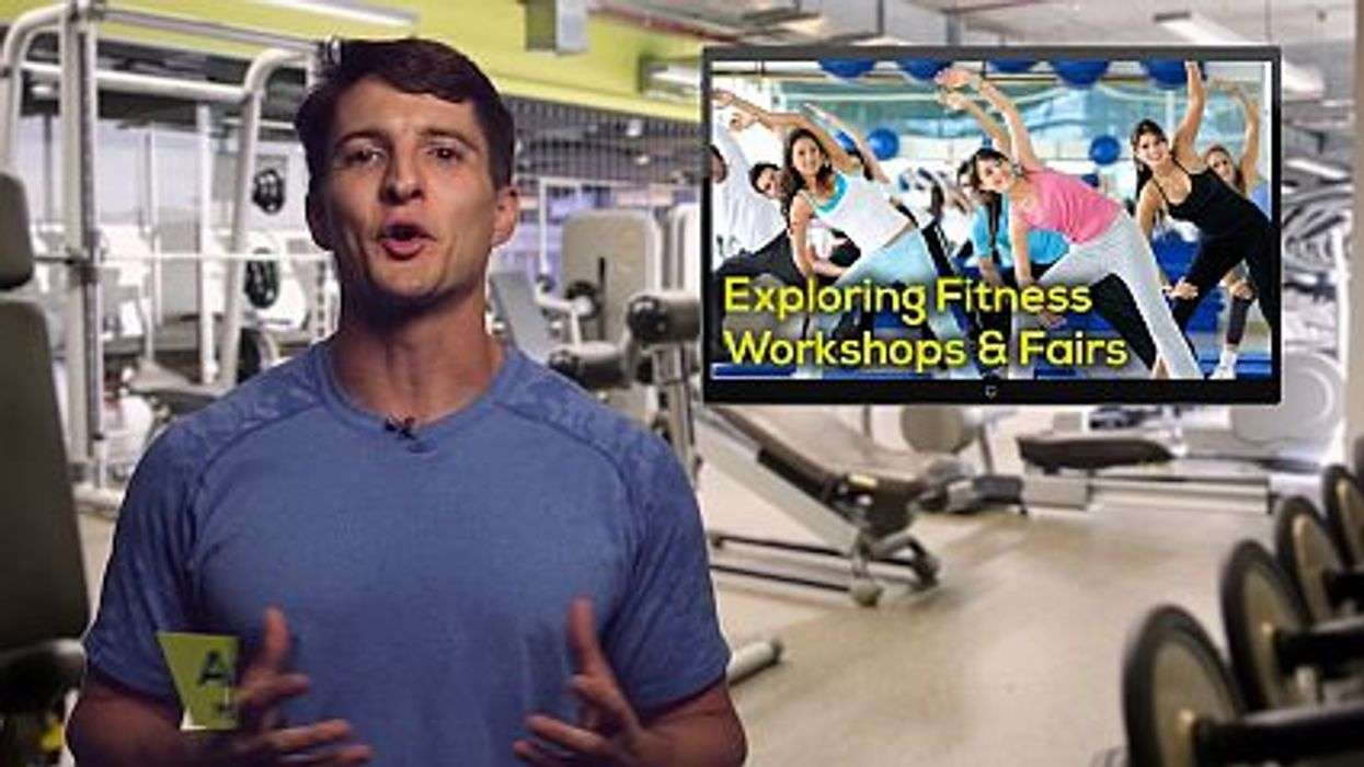 Exploring Fitness Workshops and Fairs
