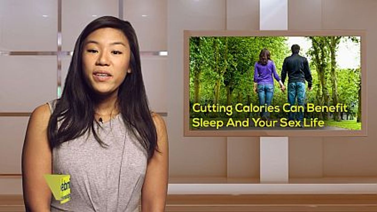 Cutting Calories Can Benefit Sleep And Your Sex Life