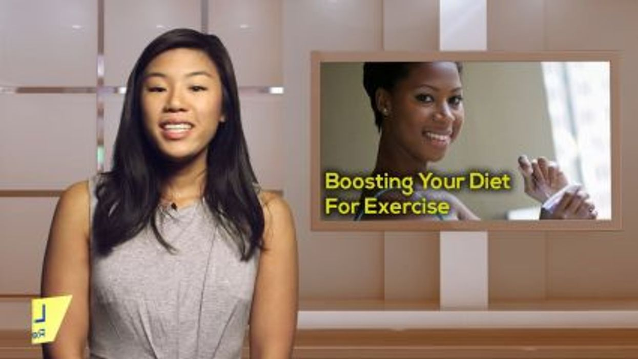 Boosting Your Diet For Exercise