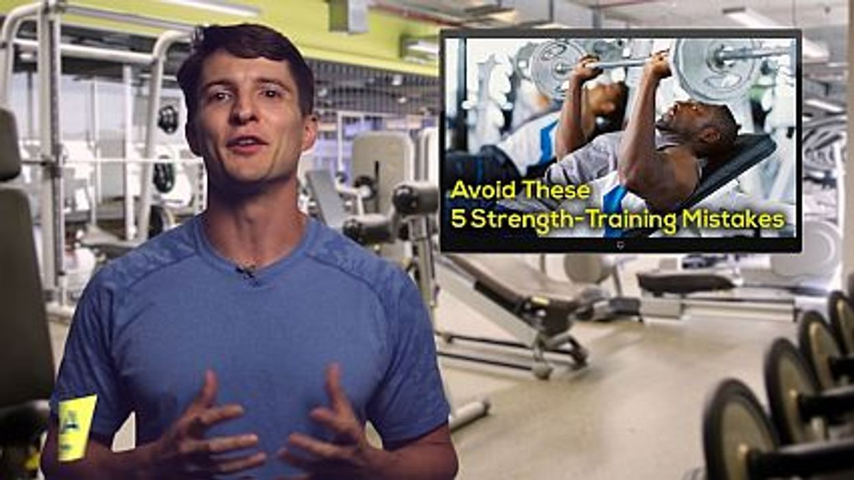 Avoid These 5 Strength-Training Mistakes