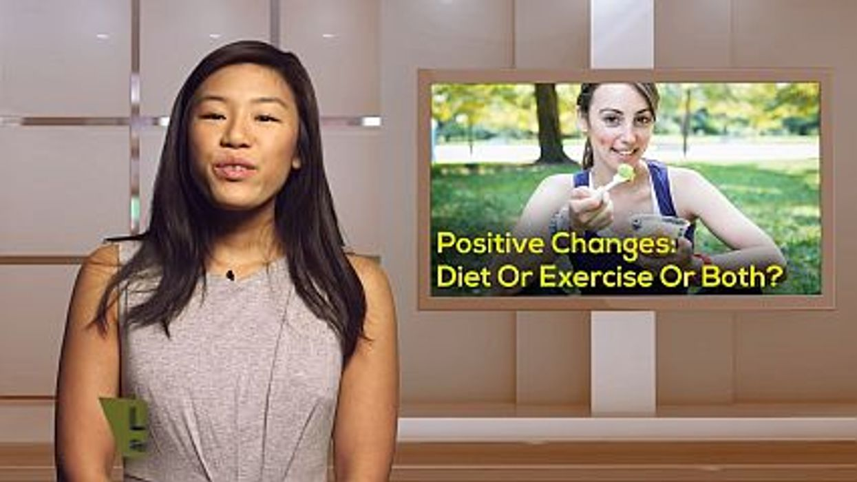 Positive Changes: Diet Or Exercise Or Both?