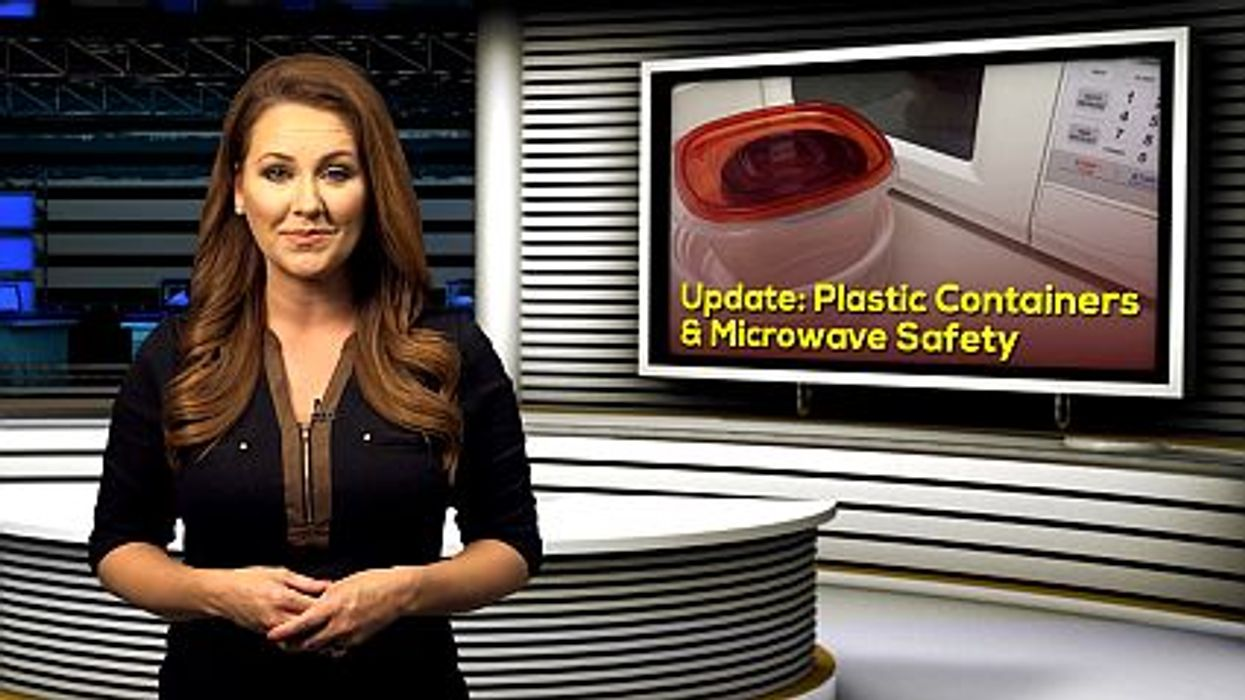 Update: Plastic Containers and Microwave Safety
