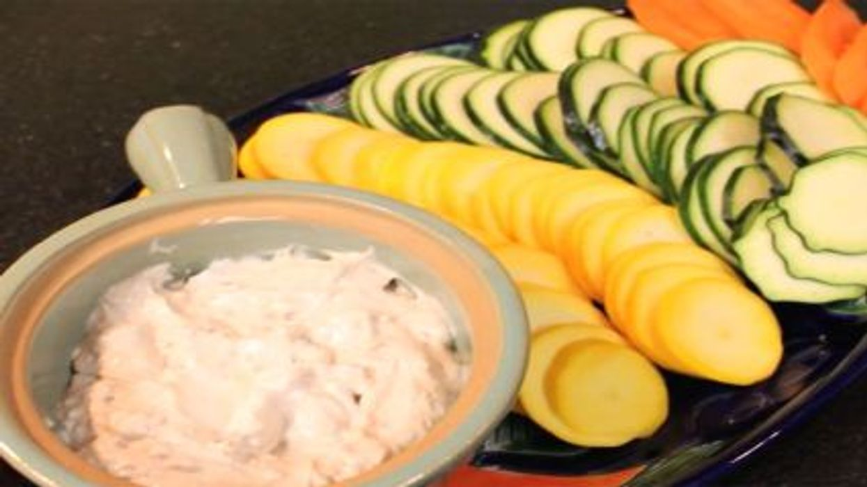 Healthier Onion Dip