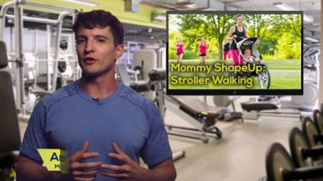 Mommy Shape-Up: Stroller Walking