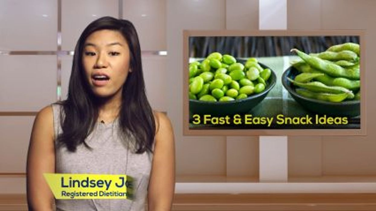 3 Fast and Easy Snack Ideas