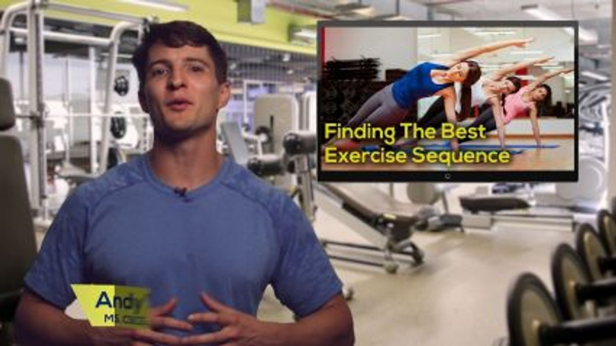 Finding The Best Exercise Sequence