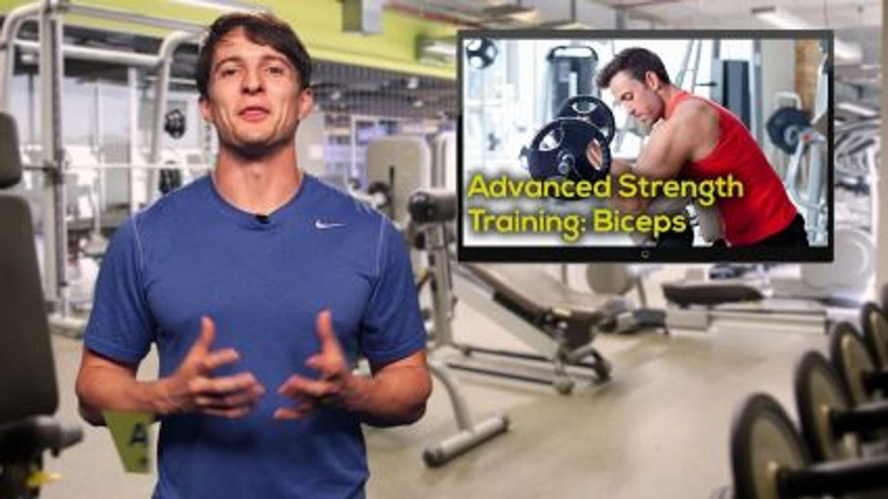 Advanced Strength Training: Biceps
