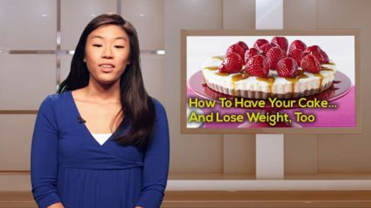 How To Have Your Cake -- And Lose Weight, Too