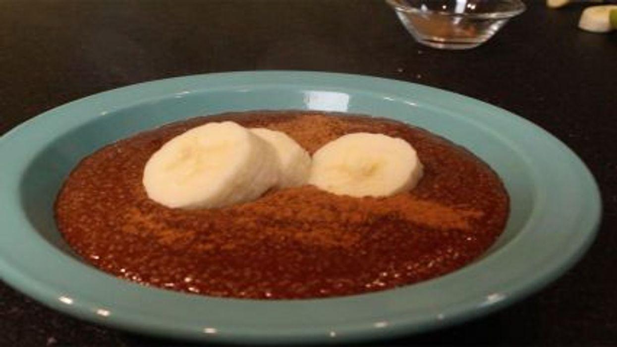Hot Chocolate Amaranth Breakfast Cereal