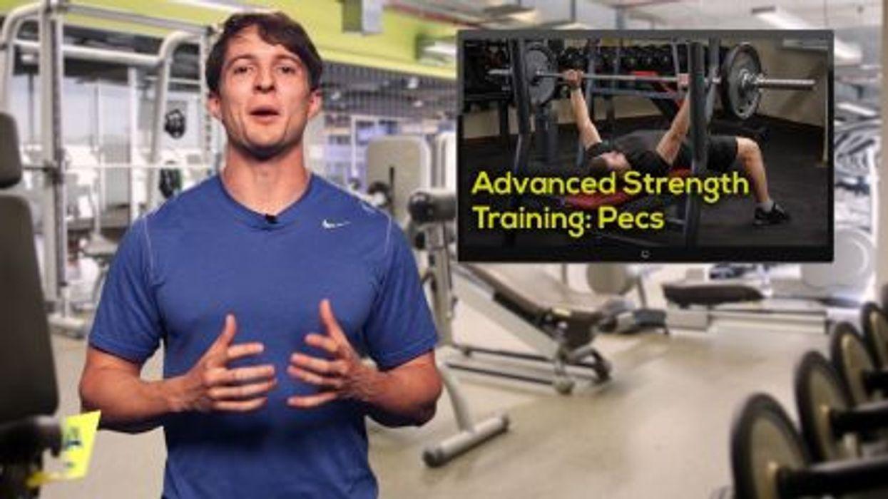 Advanced Strength Training: Pecs