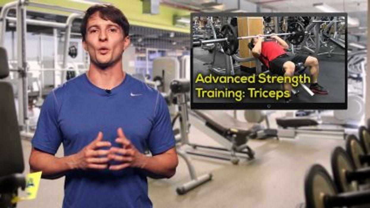 Advanced Strength Training: Triceps