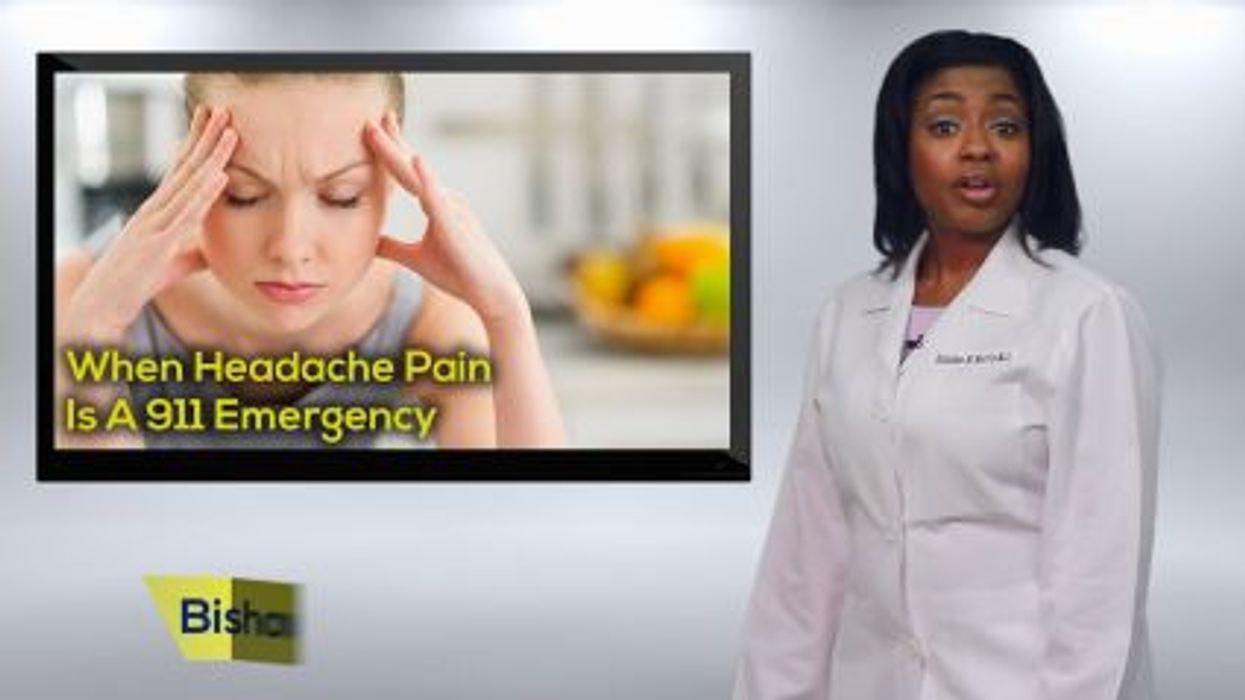 When Headache Pain Is A 911 Emergency