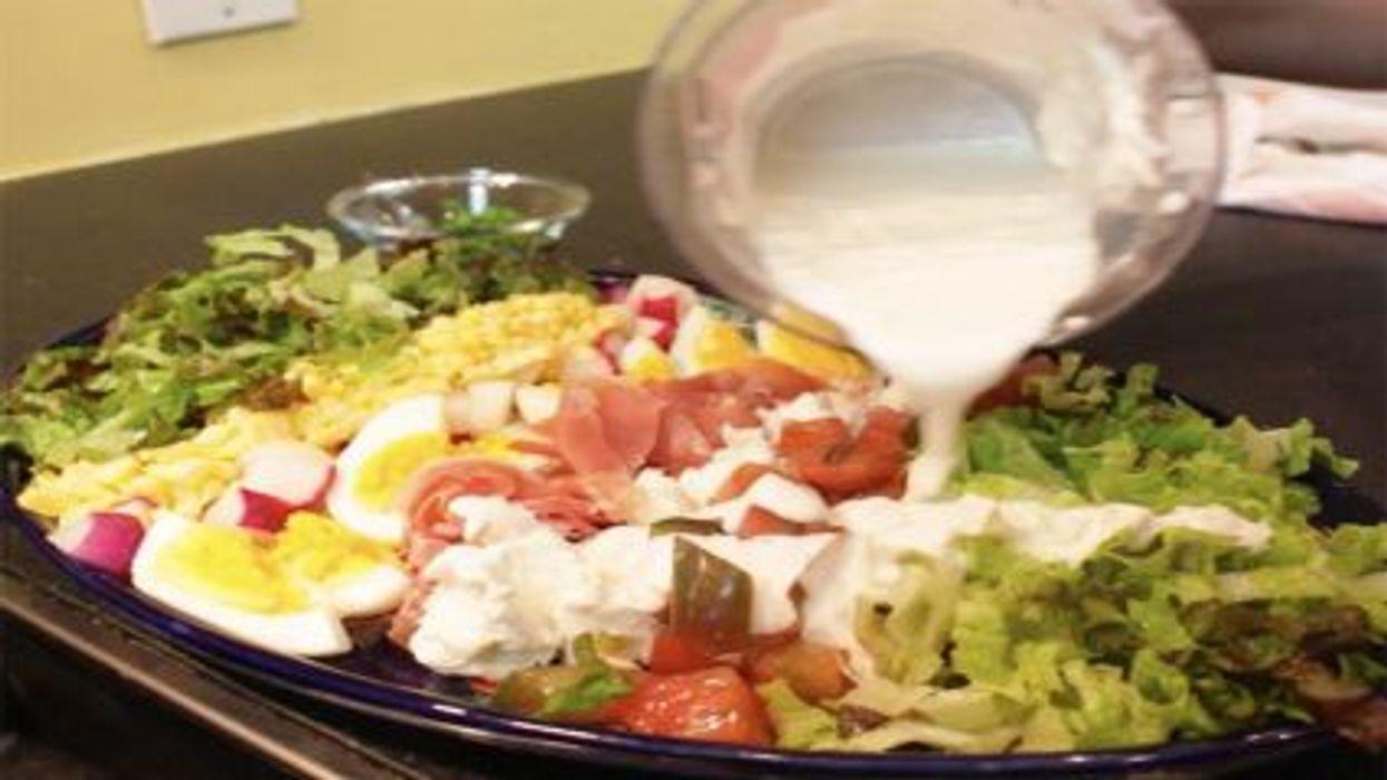 Farmers' Market Cobb Salad