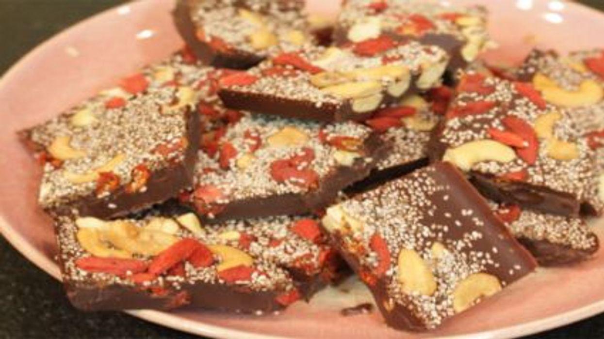 Make a Chocolate Nut Bar