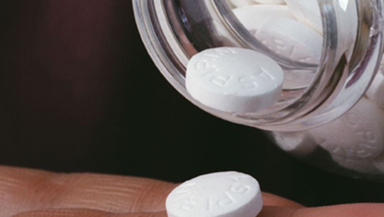 Daily Aspirin Might Ease COPD Flare-Ups