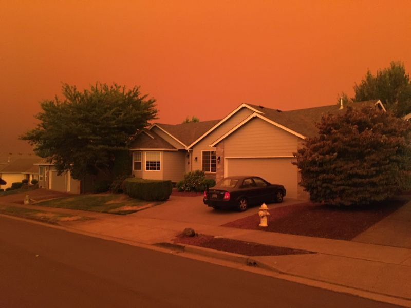 News Picture: Wildfires Are Changing the Seasonal Air Quality of the U.S. West