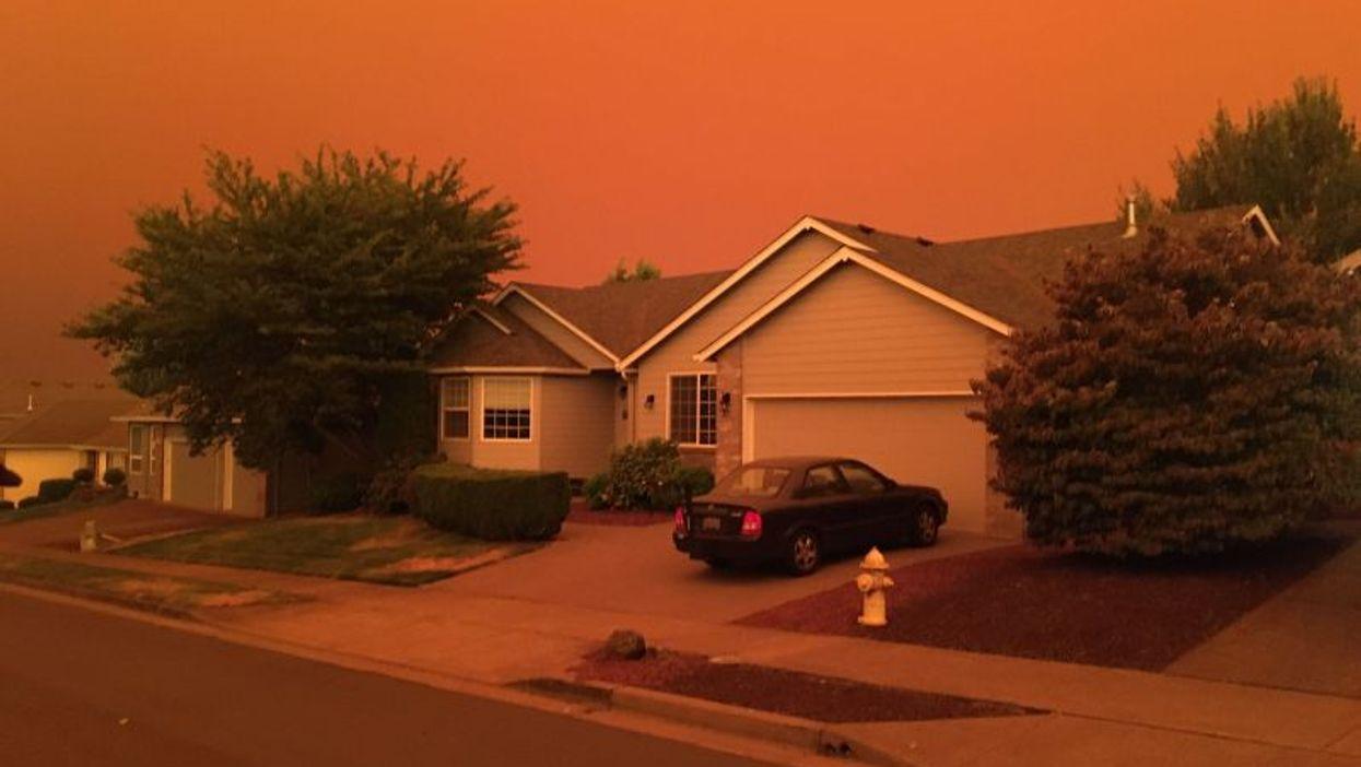 Los incendios forestales están cambiando la calidad estacional del aire en el Oeste de EE. UU.