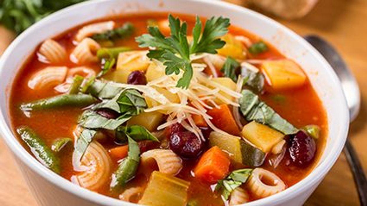 a veggie soup