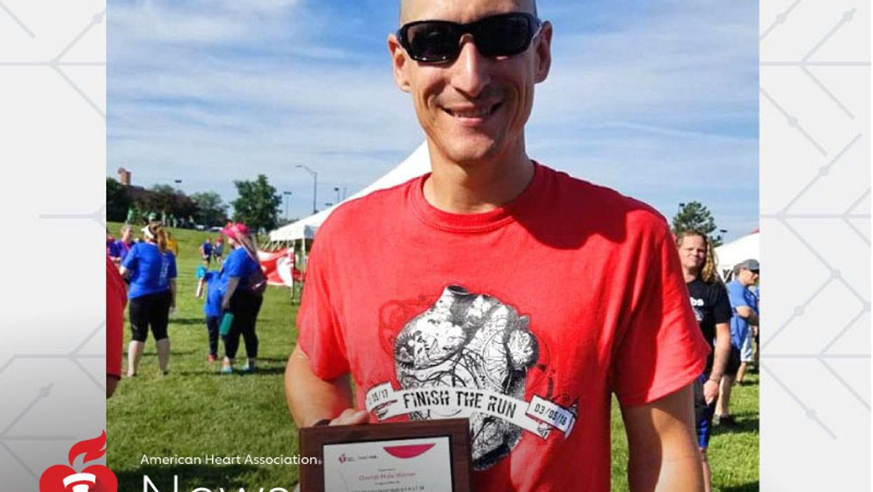 AHA News: After Heart Valve Surgery and Heart Attack, He Came Back to 'Finish the Run'
