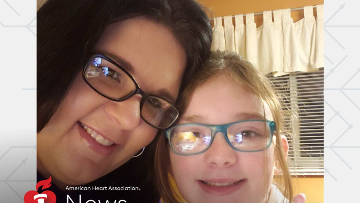 AHA News: How Could It Be a Stroke, Mom Asked – 'She's Only 8'