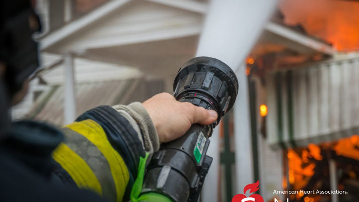 AHA News: Fighting Fires Raises Risk for Irregular Heartbeat