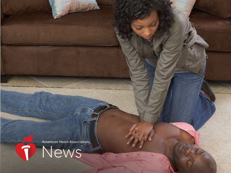 AHA News: Cardiac Arrest Deaths Are Rising -- Especially Among Younger Black Adults