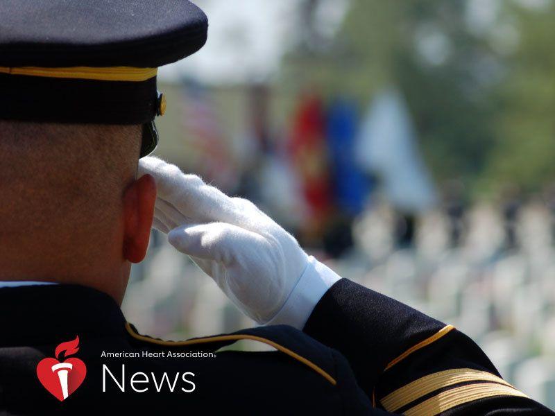 News Picture: AHA News: Traumatic Brain Injury, PTSD Boost Heart Attack Risk in Veterans