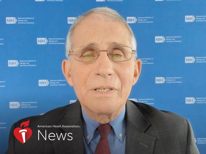 AHA News: Fauci Offers a COVID-19 Lesson and Looks to the Future thumbnail