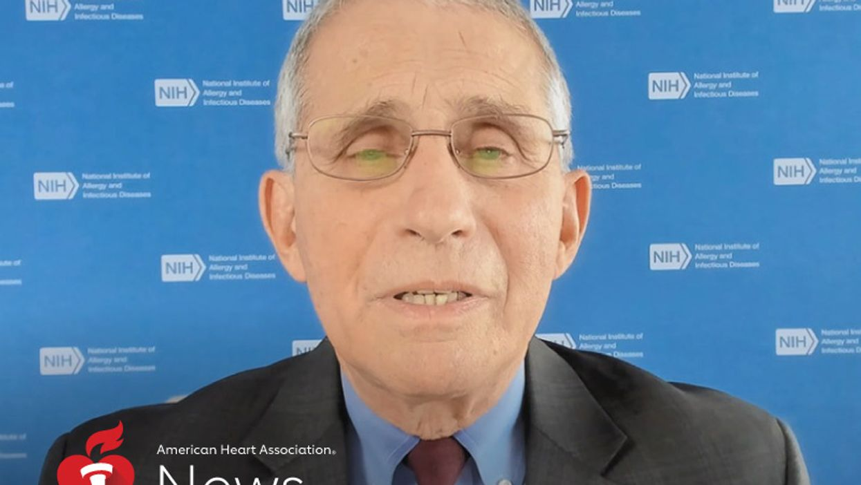AHA News: Fauci Offers a COVID-19 Lesson and Looks to the Future