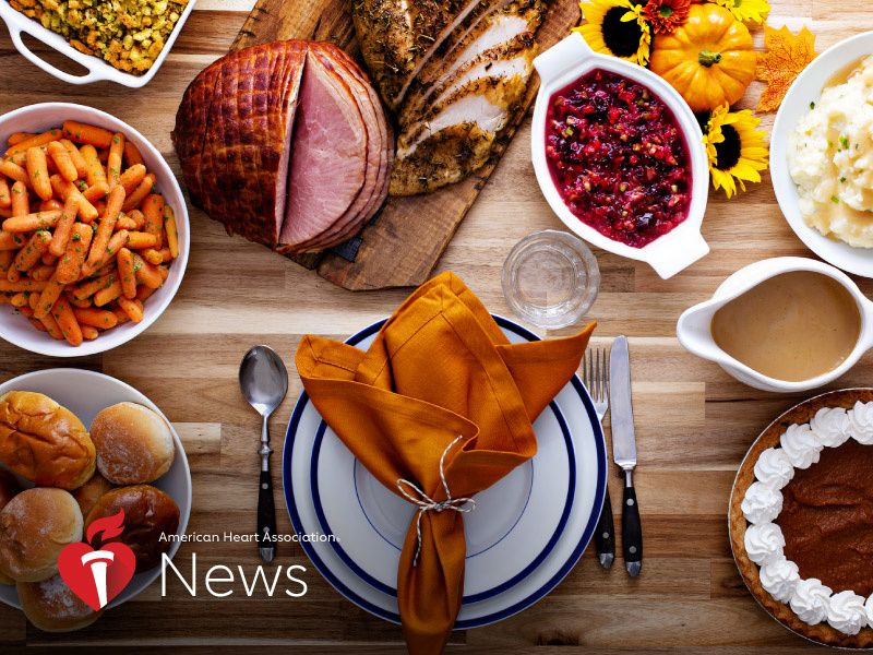 AHA News: Tackling Turkey Day: Strategies for a Healthy Feast