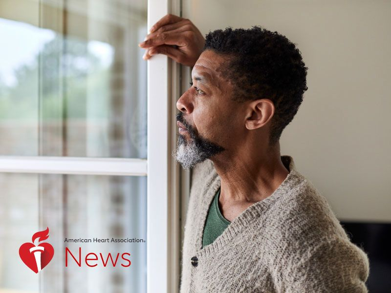 AHA News: People With Depression Fare Worse in Heart Health Study