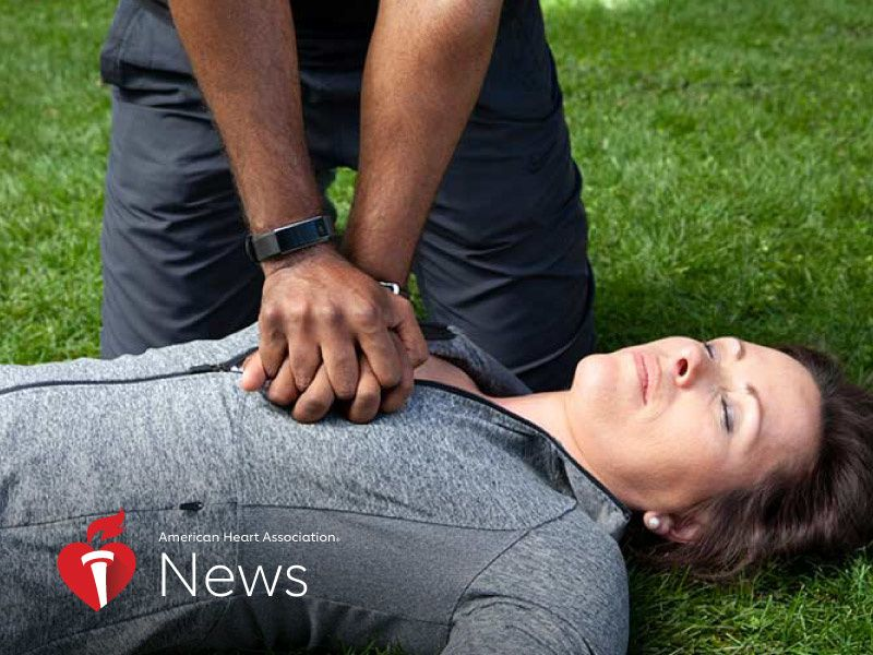 News Picture: AHA News: Why People Fear Performing CPR on Women – and What to Do About It