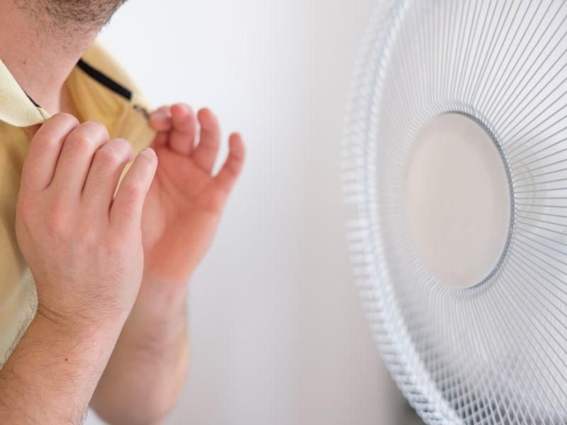 News Picture: Fans Could Help Cancer Patients Breathe Easier: Study
