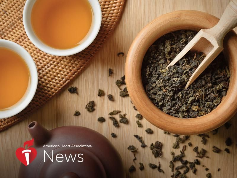 AHA News: Teatime Can Be Good for Your Health