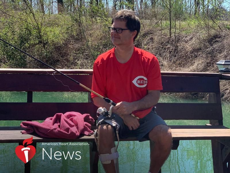 AHA News: Given a Grim Prognosis, Stroke Survivor Proved Doctors Wrong thumbnail