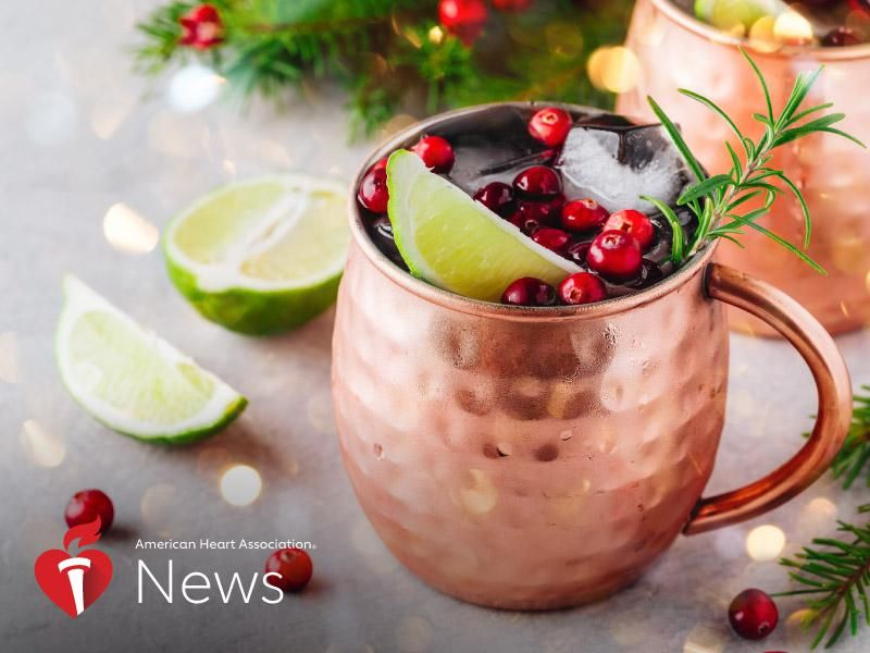 AHA News: Keep Your Holiday Drinking on the Moderate Side With This Advice thumbnail