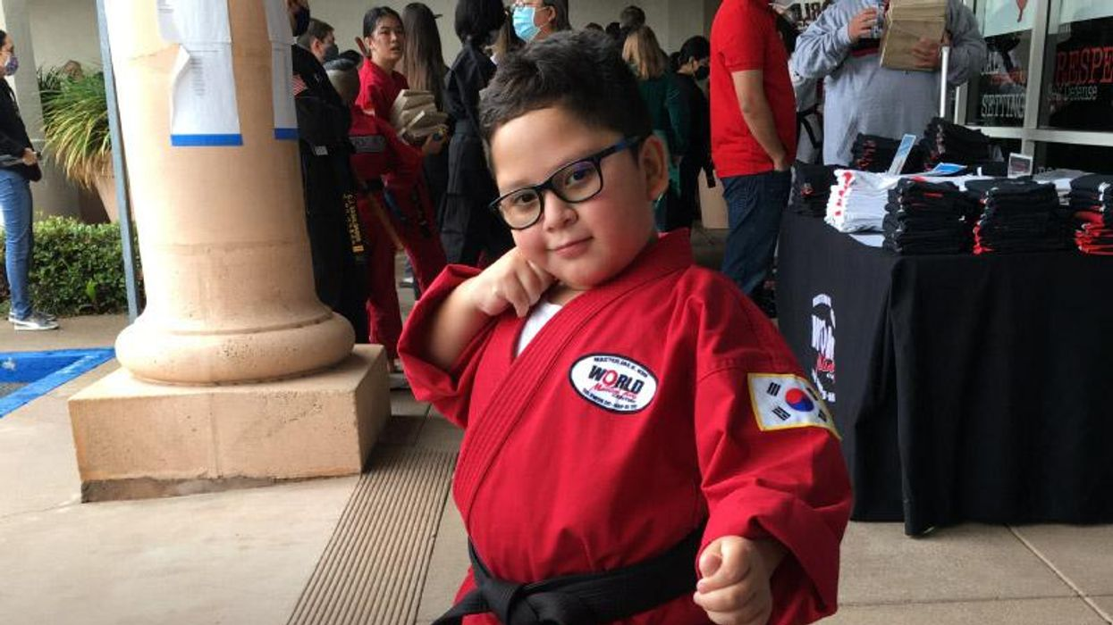 AHA News: He Went From Open-Heart Surgery at 5 to a Black Belt at 7