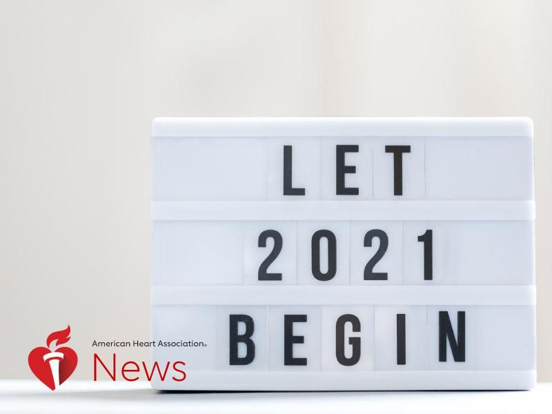 AHA News: Here's to a Healthy 2021, With Resolutions From Heart Doctors thumbnail