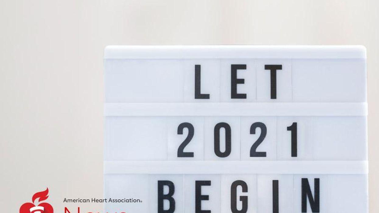 AHA News: Brindemos por un saludable 2021 con resoluciones de los médicos que se dedican al corazón