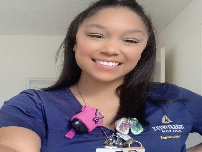 News Picture: Giving Back: Once a Lung Transplant Recipient, Now a Surgical Nurse