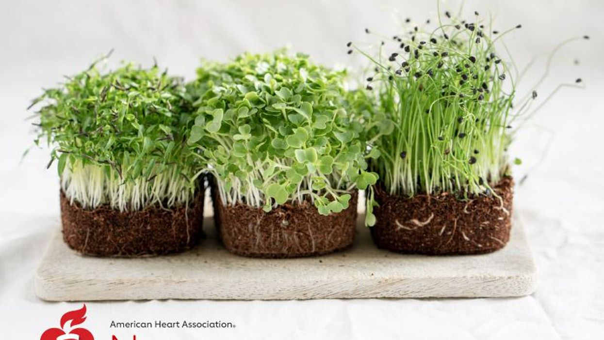 AHA News: Trendy Microgreens Offer Flavor You Can Grow at Home