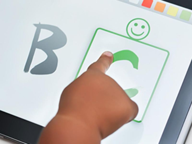 Do Touchscreens Cause Toddlers To Lose Their Concentration?